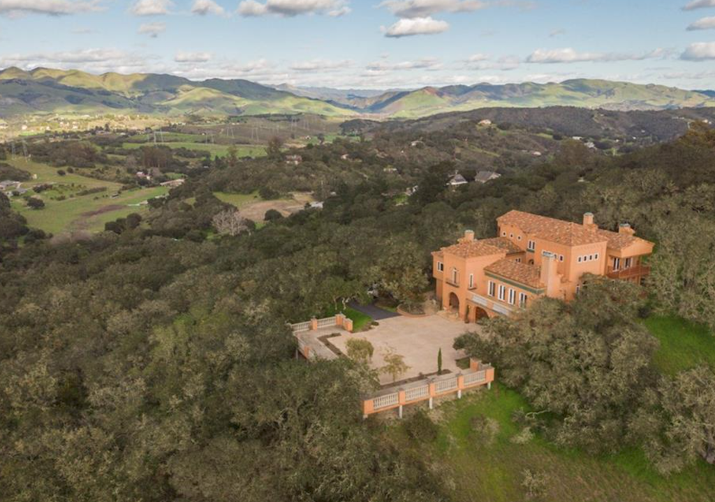 Mediterranean Masterpiece In Arroyo Grande California