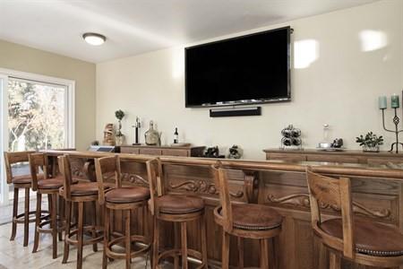 In home Bar, Full bar, Dream Home, California Real Estate