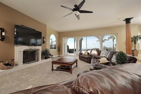 Family Room Ocean Views